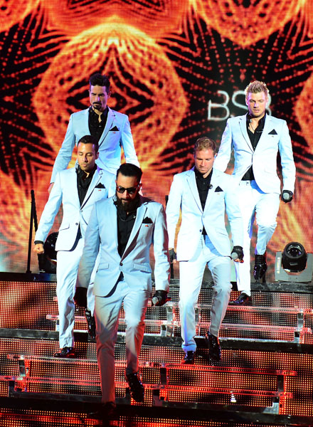 Backstreet Boys, Jesse McCartney & DJ Pauly D In Concert