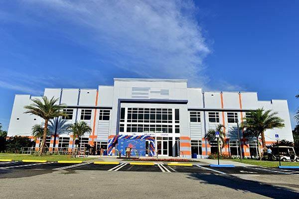 Florida Memorial University Multi-Purpose Arena & Wellness Education Center ribbon cutting ceremony