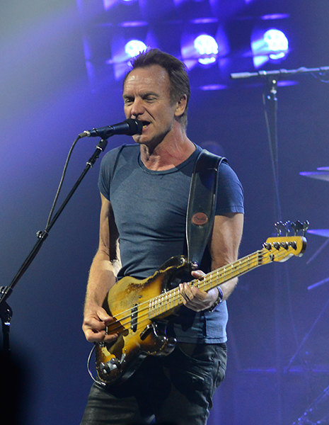 Sting In Concert at the Fillmore Miami Beach