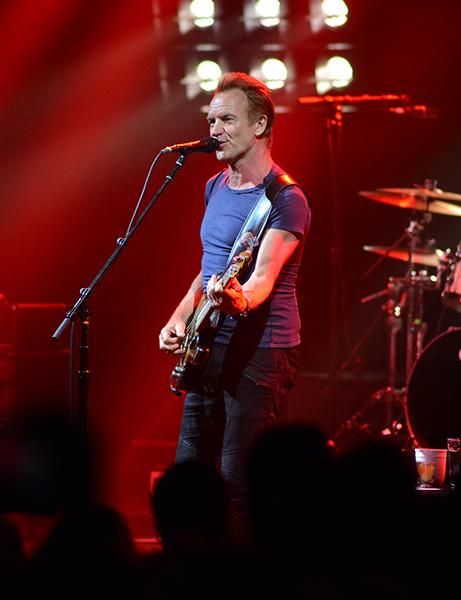 Sting In Concert at the Fillmore Miami Beach