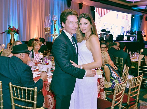 MIAMI, FL - MAY 14: Richard Marx and Daisy Fuentes attends the FedEx / St Jude Angels and Stars Gala at Hotel InterContinental on Sunday May 14, 2016 in Miami, Florida. ( Photo by Johnny Louis / jlnphotography.com )