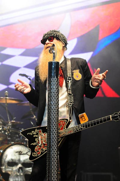 ZZ Top performs at Hard Rock Live in the Seminole Hard Rock Hotel & Casino
