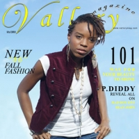 Vallery Magazine cover