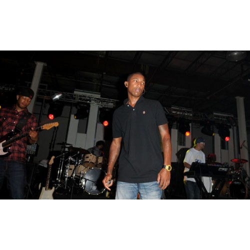 Pharell Williams headline the Future classic Festival at Soho Studio