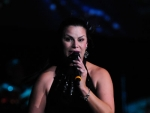 Singer Olga Tanon performs at Hard Rock Live! in the Seminole Hard Rock Hotel & Casino