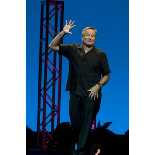 Funny Man Robin Williams performs at Hard Rock Live in Hollywood