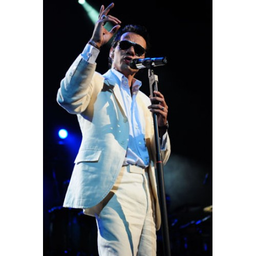 Marc Anthony performs to a full house at the AAA