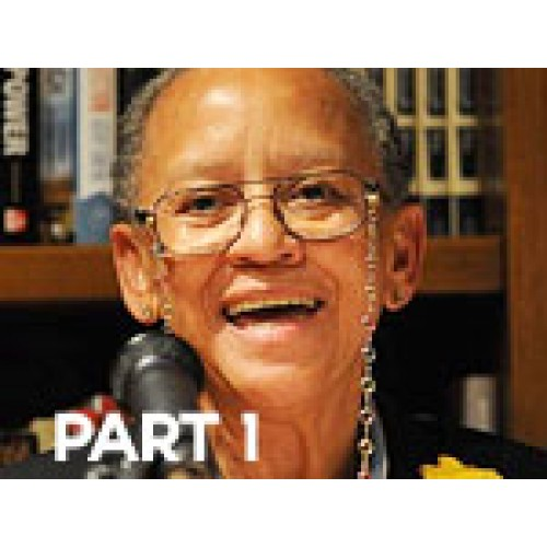 Video:Poet Nikki Giovanni reading from her new book pt.1