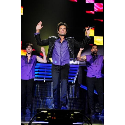 Latin pop sensation Chayanne performs in Miami