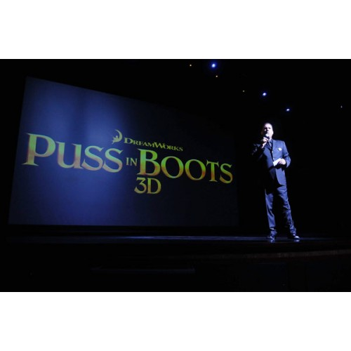 PUSS IN BOOTS Take To The Sea For Red Carpet Movie Premiere at Allure Of The Seas Cruise Ship