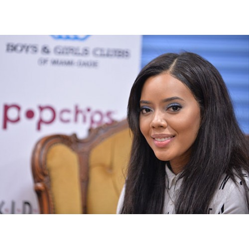 Angela Simmons Speak to Vallery Magazine at The Compound Foundation Charity Event