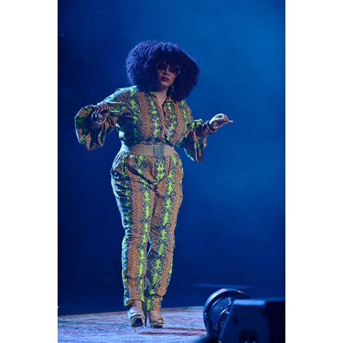"Jill Scott feature poet Tamika ""Georgia ME"" Harper In Concert At Fillmore Miami Beach"