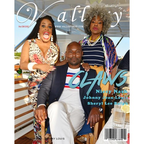 On the cover TNT Claws Stars Niecy Nash, Jimmy Jean-Louis and Sheryl Lee Ralph