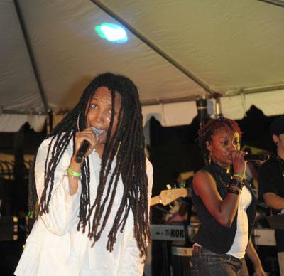 N.E.R.D. during Future Classic Festival