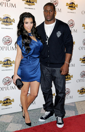 Kim Kardashian and boyfriend Reggie Bush photoby:Johnny Louis/ jlnphotographhy.com