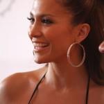 Jennifer Lopez walking THE ORANGE CARPET during the  DOLPHINS VS. SAINTS game