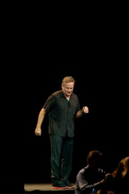 "Robin Williams' live during his ""Weapons of Self-Destruction"" comedy tour"