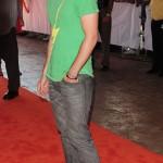 Kris Allen at the Orange Carpet during the  DOLPHINS VS. SAINTS game