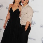 Jennifer Lopez & Marc Anthony at Orange Carpet during the DOLPHINS VS. SAINTS game
