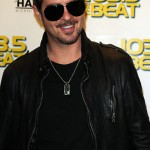 Robin Thicke at 103.5 The Beat Studios with Vanessa James
