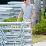 Tom Felton Sightings in Miami Beach