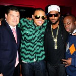 Chris Brown host Play Nightclub