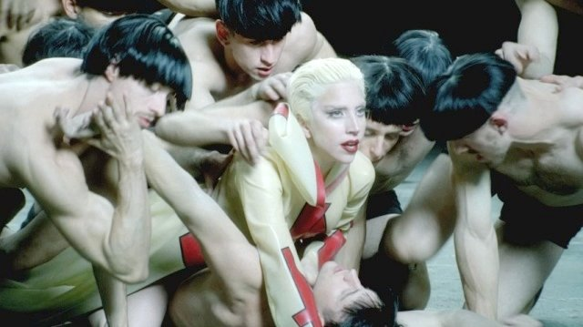 "Lady Gaga in ""Alejandro"""