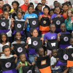 Nick Cannon join Office Depot to Donates Backpacks To Kids In Need